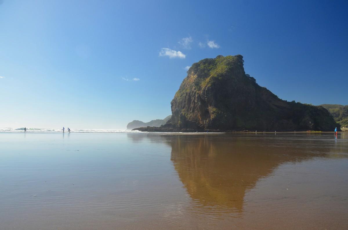 Zdjęcia: plaża, Wyspa Północna, widoczek, NOWA ZELANDIA