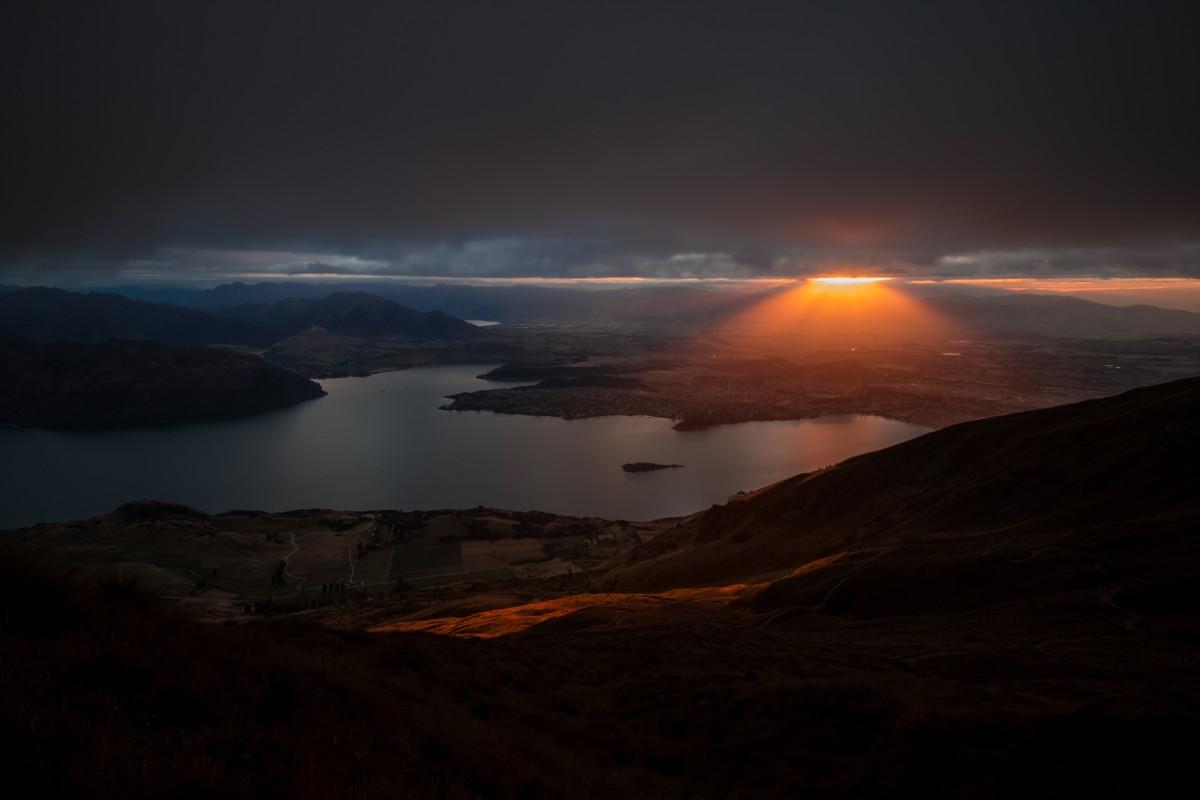 Zdjęcia: Roy's Peak (Wanaka), Otago, Roy's Peak, NOWA ZELANDIA