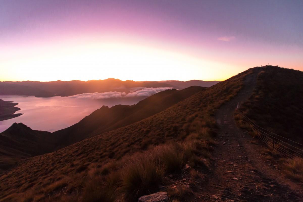 Zdjęcia: Wanaka, Otago, Isthmus Peak, NOWA ZELANDIA