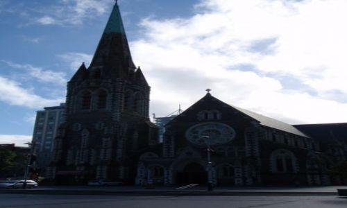 Zdjecie NOWA ZELANDIA / Wyspa Południowa / Christchurch / katedra