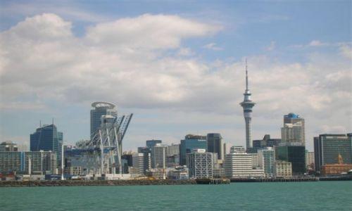 Zdjęcie NOWA ZELANDIA / Polnocna wyspa / Auckland / Sky tower w Auckland