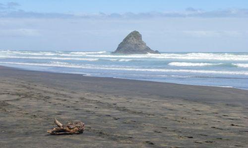 Zdjecie NOWA ZELANDIA / Wyspa Północna / Bay of Islands / Plaża z filmu