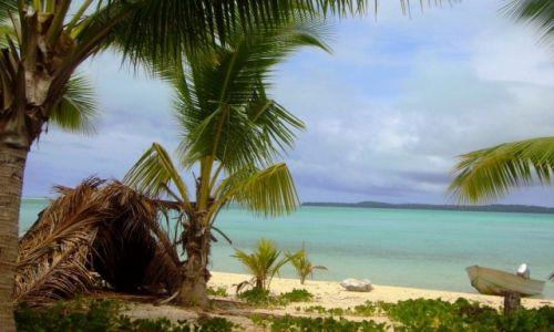NOWA ZELANDIA / Wyspy Cooka / atol Aitutaki / prawie jak Robinson Cruzoe