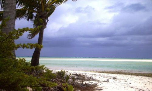 NOWA ZELANDIA / Wyspy Cooka / atol Aitutaki / żal było opuszczać ten raj na ziemi