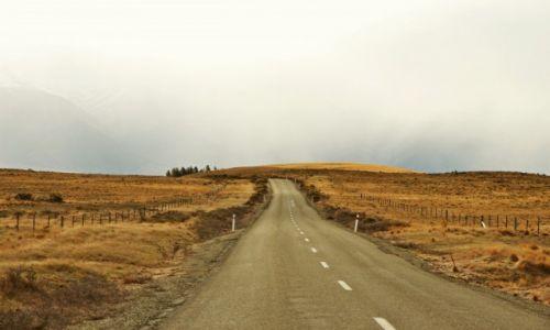 Zdjecie NOWA ZELANDIA / Wyspa Południowa / Okolice jeziora Tekapo / Tam gdzie kończy się droga