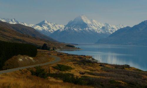 NOWA ZELANDIA / Wyspa Poludniowa / Mt Cook / Daleko tak daleko...