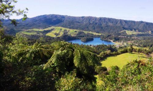 NOWA ZELANDIA / Wyspa Północna / Park Narodowy Tongariro / zjawiskowy krajobraz
