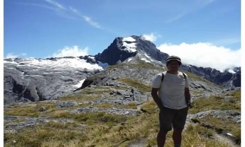 Zdjecie NOWA ZELANDIA / wyspa południowa / szlak / przełęcz Gilles