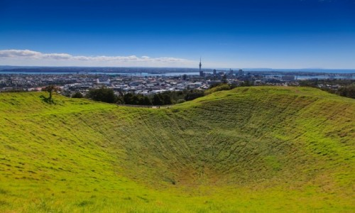 Zdjęcie NOWA ZELANDIA / Auckland / Mt Eden / Auckland