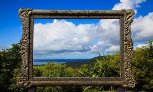 Zdjęcie NOWA ZELANDIA / Auckland / Arataki Visitor Center / Waitakere Ranges Regional Park