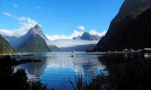 NOWA ZELANDIA / Wyspa Południowa / Milford Sound / Fjordy_01