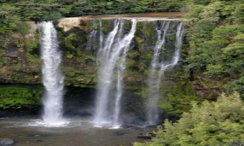 NOWA ZELANDIA / Waikato / Mapiu / Wodospad Omaru