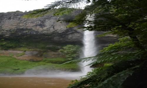 Zdjęcie NOWA ZELANDIA / Waikato / Te Mata / Wodospad Bridal Veil