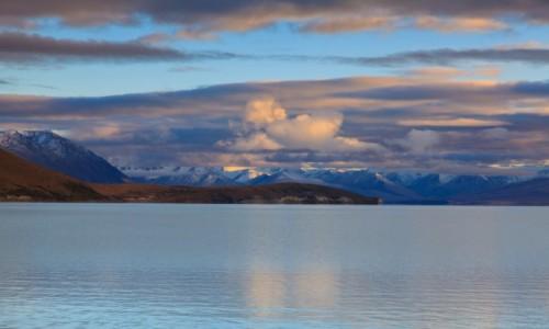 Zdjecie NOWA ZELANDIA / South Island / Tekapo / Jezioro Tekapo
