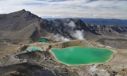 Zdjecie NOWA ZELANDIA / Wyspa Północna / Tongariro National Park / Tongariro Alpine Crossing