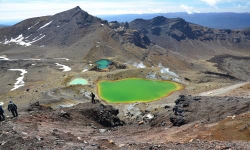 NOWA ZELANDIA / Tongariro / na szlaku / kolory