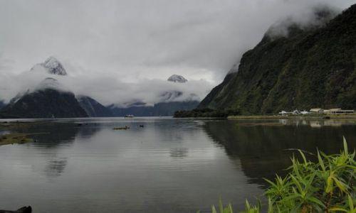 Zdjęcie NOWA ZELANDIA / brak / wyspa polodniowa / fiordy