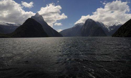 Zdjecie NOWA ZELANDIA / brak / wyspa polodniowa / fiordy