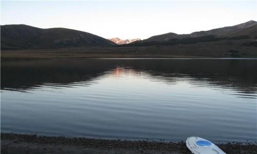 Zdjecie NOWA ZELANDIA / Południowa wyspa / NZ / Jezioro Sumner