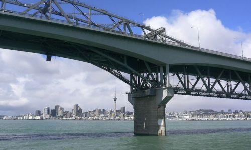 Zdjecie NOWA ZELANDIA / Wyspa Polnocna / Auckland / Most w Huraki B