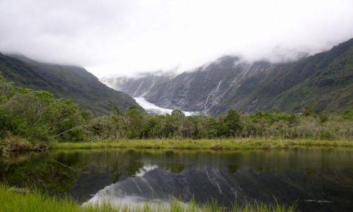 Zdjecie NOWA ZELANDIA / west coast / nowa zelandia / lodowiec franc josef