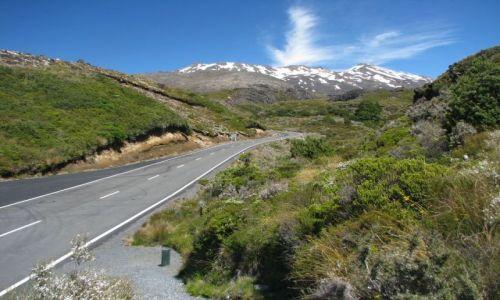 Zdjecie NOWA ZELANDIA / Tongariro National Park / Bruce Road / Mount Ruapehu