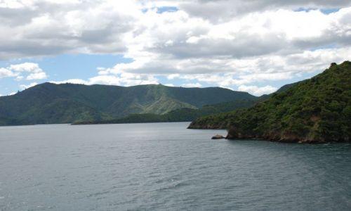 Zdjecie NOWA ZELANDIA / Marlborough Sound / Picton / Z Wellington do Picton