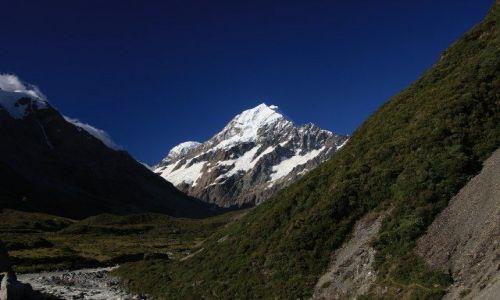 Zdjecie NOWA ZELANDIA / Wyspa południowa / Mount Cook National Park / Mount Cook