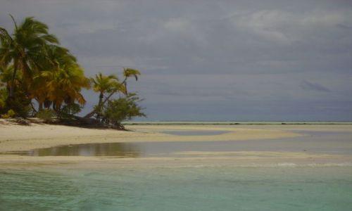 NOWA ZELANDIA / Wyspy Cooka / Atol Aitutaki / atol