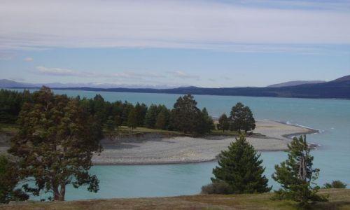 Zdjecie NOWA ZELANDIA / Wyspa Południowa / Lake Pukaki / następne jezioro