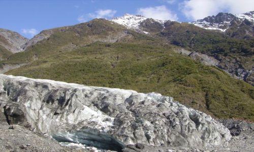 Zdjecie NOWA ZELANDIA / Wyspa Południowa /  Fox Glazier / lodowiec
