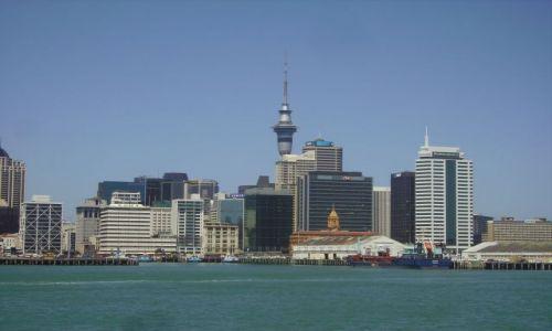 Zdjęcie NOWA ZELANDIA / Wyspa Północna / Auckland / panorama Auckland