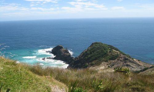 Zdjecie NOWA ZELANDIA / Far North, Northland / Cape Reinga / Cape Reinga