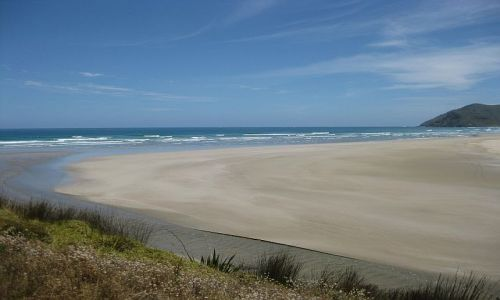 Zdjęcie NOWA ZELANDIA / Far North, Northland / Werahi Beach / Werahi Beach