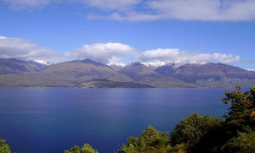 Zdjecie NOWA ZELANDIA / Wyspa Południowa / okolice jez.Wanaka / piękne jezioro Wanaka