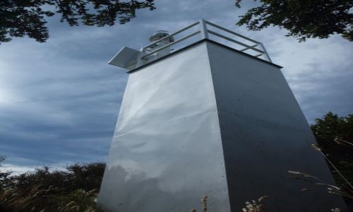 Zdjecie NOWA ZELANDIA / Stewart Island / Ackers Point Lighthouse / konkurs latarni