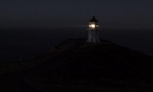 Zdjecie NOWA ZELANDIA / Far North / Cape Reinga / konkurs latarni