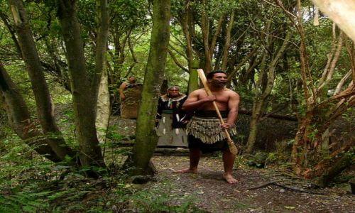 Zdjecie NOWA ZELANDIA / Poludniowa Wyspa / okolice Christchurch / w wiosce Maorysów
