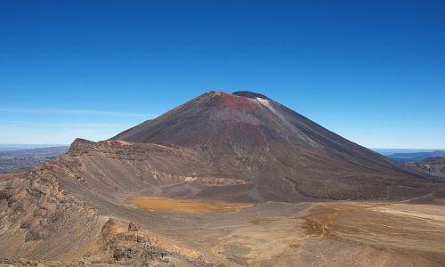 Zdjecie NOWA ZELANDIA / Central Plateau / Tongariro National Park / Mount Ngauruhoe