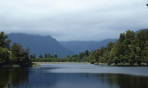 Zdjecie NOWA ZELANDIA / South Island / Lake Matheson / Lake Matheson