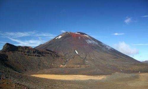 Zdjecie NOWA ZELANDIA / brak / Tongariro Crossing / Mount Ngauruhoe