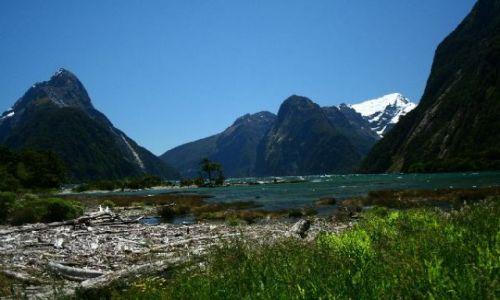 Zdjecie NOWA ZELANDIA / brak / Milford Sound / Mitre Peak