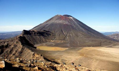 Zdjecie NOWA ZELANDIA / Wyspa Północna / Park Narodowy Tongariro  / Maszerujemy...