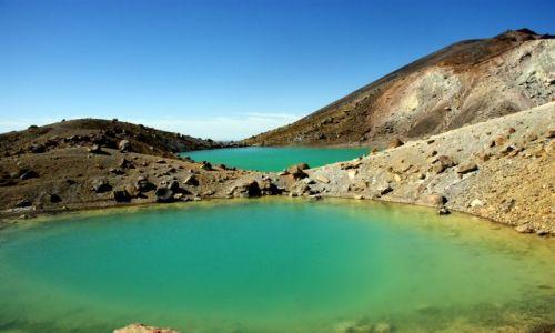 Zdjecie NOWA ZELANDIA / Wyspa Północna / Park Narodowy Tongariro  / ... i dalej mas