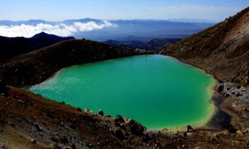 Zdjecie NOWA ZELANDIA / Wyspa północna / Park Narodowy Tongariro / Niemal w chmurach