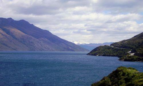 Zdjecie NOWA ZELANDIA / Południowa Wyspa / droga do Te Anau / piękna droga do Te Anau