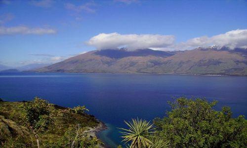 Zdjecie NOWA ZELANDIA / Południowa Wyspa / jezioro Wanaka / niezwykłe jezioro Wanaka
