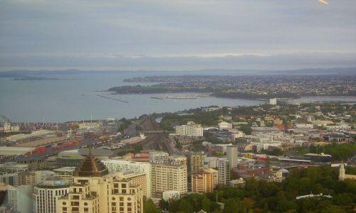 Zdjecie NOWA ZELANDIA / Północna Wyspa / Auskland / widok Auckland ze Sky Tower