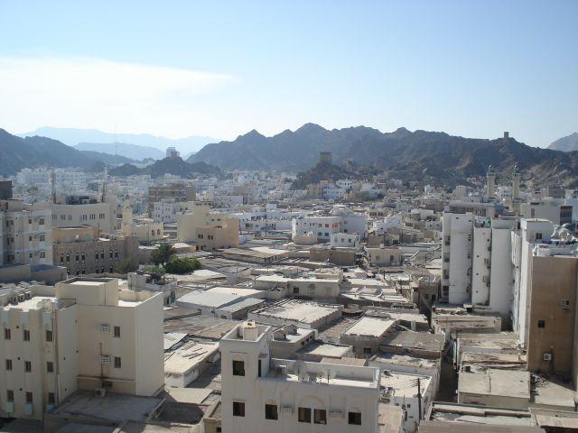 Zdjęcia: Muttrah, Muscat, Panorama Muscatu, OMAN