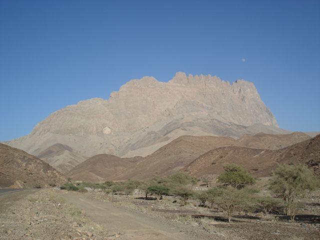 Zdjęcia: droga Al-Ayn - Bat, Ad Darzis, Góra, OMAN